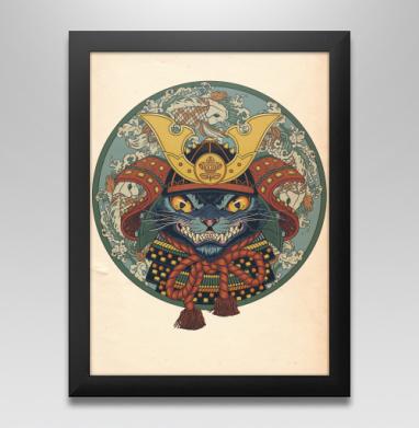 Самурай - Постер в чёрной раме