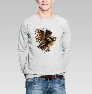 сова - Купить мужские свитшоты с солнцем в Москве, цена мужских свитшотов с солнцем  с прикольными принтами - магазин дизайнерской одежды MaryJane