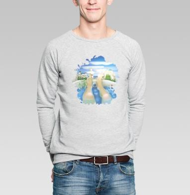 Лето всегда с тобой - Купить мужские свитшоты милые в Москве, цена мужских свитшотов милых  с прикольными принтами - магазин дизайнерской одежды MaryJane