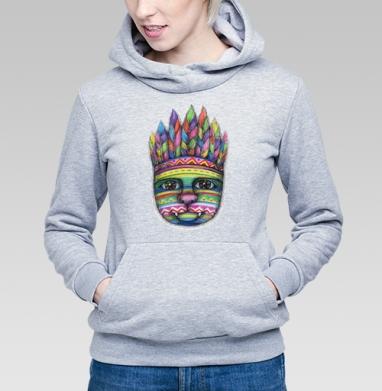 Вождь пушистых - Купить детские толстовки с индейцами в Москве, цена детских толстовок с индейцами  с прикольными принтами - магазин дизайнерской одежды MaryJane