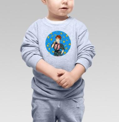 Eat it - Купить детские свитшоты с фруктами в Москве, цена детских свитшотов с фруктами  с прикольными принтами - магазин дизайнерской одежды MaryJane
