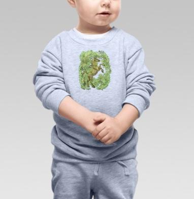 коняга - Купить детские свитшоты с деревьями в Москве, цена детских свитшотов с деревьями  с прикольными принтами - магазин дизайнерской одежды MaryJane