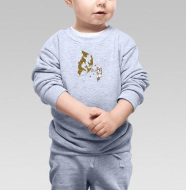 Космо, Cвитшот Детский серый меланж