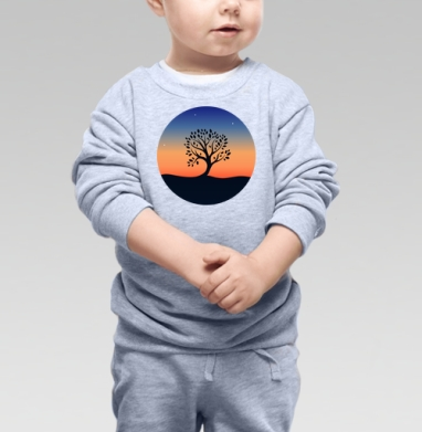 Наедине с собой - Купить детские свитшоты романтика в Москве, цена детских свитшотов романтических  с прикольными принтами - магазин дизайнерской одежды MaryJane