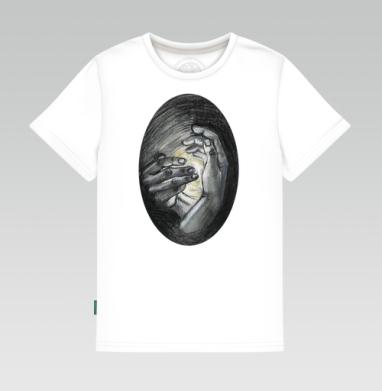 Детская футболка белая - Новая жизнь
