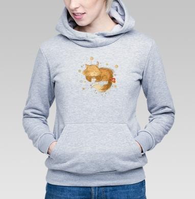 Мурр... - Купить детские толстовки с кошками в Москве, цена детских толстовок с кошками  с прикольными принтами - магазин дизайнерской одежды MaryJane