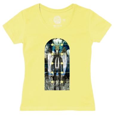 Футболка женская желтая - Алчный