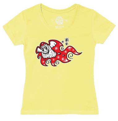 Футболка женская желтая - Oh-ho-ho