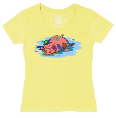 Футболка женская желтая - В поиске цвета