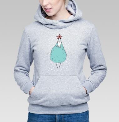 Овечка со звездой - Купить детские толстовки Новый год в Москве, цена детских толстовок новогодних  с прикольными принтами - магазин дизайнерской одежды MaryJane