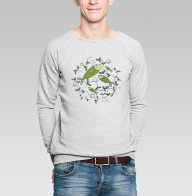 Рыбоньки - Купить мужские свитшоты с рыбой в Москве, цена мужских свитшотов с рыбой  с прикольными принтами - магазин дизайнерской одежды MaryJane