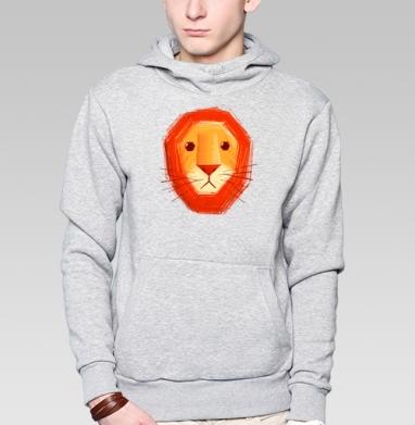 Грустный лев - Толстовки детские