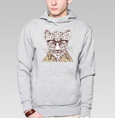 Hipster wild - Купить мужские толстовки ретро в Москве, цена мужских толстовок ретро  с прикольными принтами - магазин дизайнерской одежды MaryJane