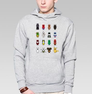 My heroes - Купить мужские толстовки Ниндзя в Москве, цена мужских  Ниндзя  с прикольными принтами - магазин дизайнерской одежды MaryJane