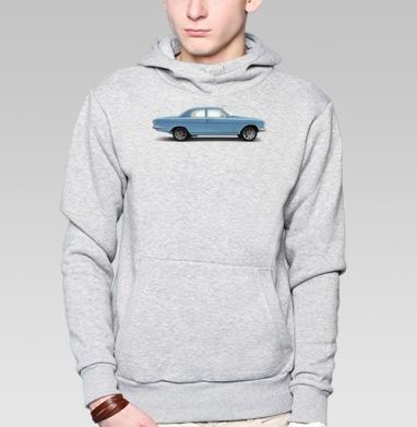 Ретро машина, волга 24 автомобиль с характером - Купить мужские толстовки ретро в Москве, цена мужских толстовок ретро  с прикольными принтами - магазин дизайнерской одежды MaryJane