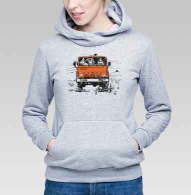 3 богатыря и Камаз - Купить детские толстовки с автомобилями в Москве, цена детских  с автомобилями  с прикольными принтами - магазин дизайнерской одежды MaryJane