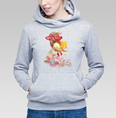 отпуск !!!! - Купить детские толстовки с велосипедом в Москве, цена детских толстовок с велосипедом  с прикольными принтами - магазин дизайнерской одежды MaryJane