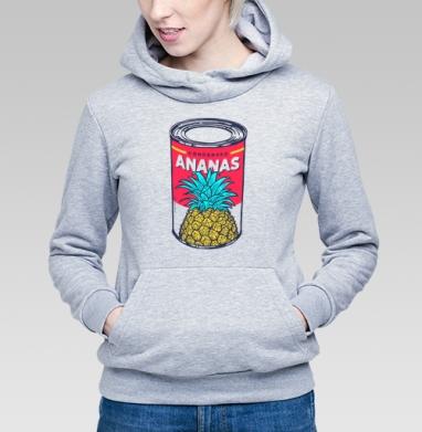 Сгущённый ананас - Купить детские толстовки с фруктами в Москве, цена детских толстовок с фруктами  с прикольными принтами - магазин дизайнерской одежды MaryJane