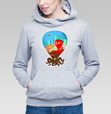 Атака цветных монстров - Купить детские толстовки с космосом в Москве, цена детских  с космосом  с прикольными принтами - магазин дизайнерской одежды MaryJane