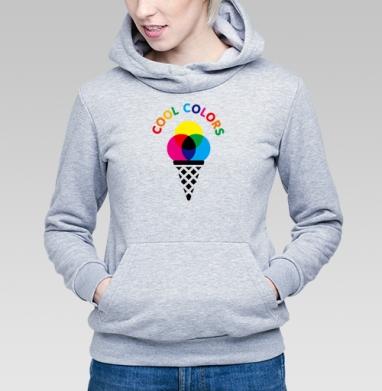 Cool colors - Купить детские толстовки с мороженным в Москве, цена детских толстовок с мороженным  с прикольными принтами - магазин дизайнерской одежды MaryJane