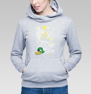 Crazy Grower - Купить детские толстовки с дымом в Москве, цена детских толстовок с дымом  с прикольными принтами - магазин дизайнерской одежды MaryJane