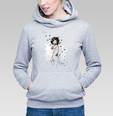 Ежна - Купить детские толстовки романтика в Москве, цена детских толстовок романтических  с прикольными принтами - магазин дизайнерской одежды MaryJane