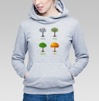 Fall - Купить детские толстовки с деревьями в Москве, цена детских толстовок с деревьями  с прикольными принтами - магазин дизайнерской одежды MaryJane