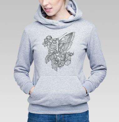 Flowers of my body - Купить детские толстовки с бабочками в Москве, цена детских толстовок с бабочкой с прикольными принтами - магазин дизайнерской одежды MaryJane