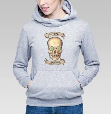 Forever young (вечно молодой) - Купить детские толстовки с программистом в Москве, цена детских толстовок с программистом с прикольными принтами - магазин дизайнерской одежды MaryJane