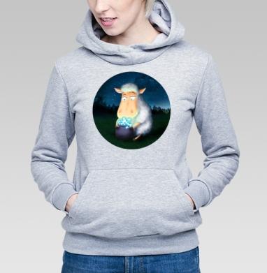 Горшочек для овечки - Купить детские толстовки со сказками в Москве, цена детских толстовок со сказками  с прикольными принтами - магазин дизайнерской одежды MaryJane