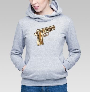 Gun - Купить детские толстовки военные в Москве, цена детских толстовок военных с прикольными принтами - магазин дизайнерской одежды MaryJane