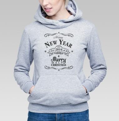 Happy New Malt 2014 - Купить детские толстовки алкоголь в Москве, цена детских толстовок с алкоголем с прикольными принтами - магазин дизайнерской одежды MaryJane