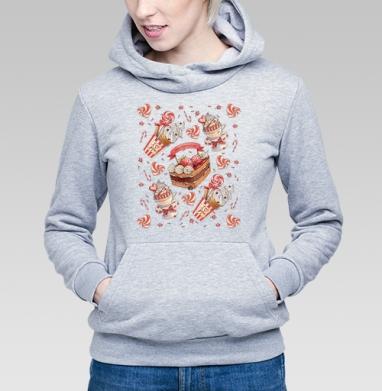 Happy Valentine's Day pattern - Купить детские толстовки для влюбленных в Москве, цена детских  дли влюбленных  с прикольными принтами - магазин дизайнерской одежды MaryJane