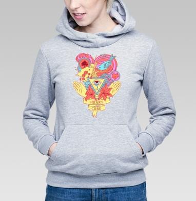 Heart core - Купить детские толстовки с любовью в Москве, цена детских толстовок с любовью  с прикольными принтами - магазин дизайнерской одежды MaryJane