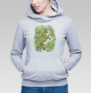 коняга - Купить детские толстовки с деревьями в Москве, цена детских толстовок с деревьями  с прикольными принтами - магазин дизайнерской одежды MaryJane