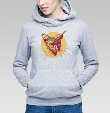 Кот сфинкс - Купить детские толстовки хипстерские в Москве, цена детских толстовок хипстерских  с прикольными принтами - магазин дизайнерской одежды MaryJane