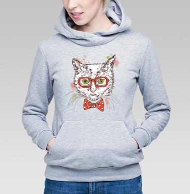 Котя-хипстер - Купить детские толстовки модные в Москве, цена детских толстовок модных  с прикольными принтами - магазин дизайнерской одежды MaryJane