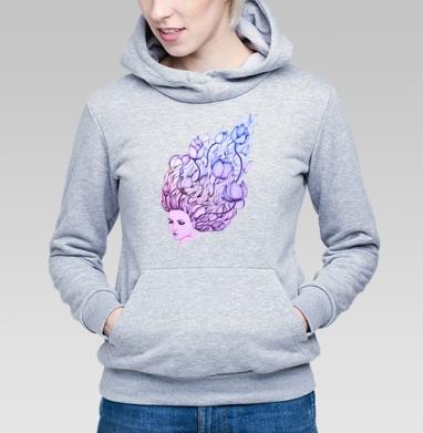 Lady-flower - Купить детские толстовки нежность в Москве, цена детских толстовок нежность  с прикольными принтами - магазин дизайнерской одежды MaryJane