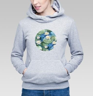 Лилия - Купить детские толстовки с акварелью в Москве, цена детских толстовок с акварелью  с прикольными принтами - магазин дизайнерской одежды MaryJane