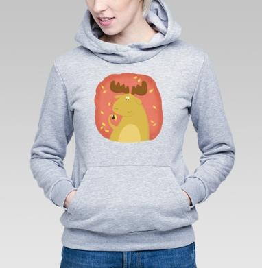 Лосень - Купить детские толстовки осень в Москве, цена детских толстовок осенних  с прикольными принтами - магазин дизайнерской одежды MaryJane