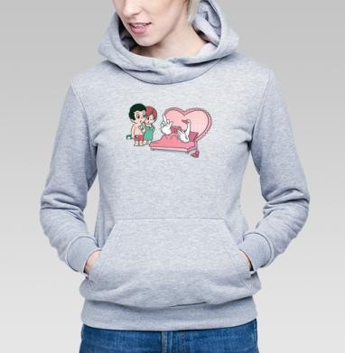 Love is.. - Купить детские толстовки парные в Москве, цена детских толстовок парных  с прикольными принтами - магазин дизайнерской одежды MaryJane