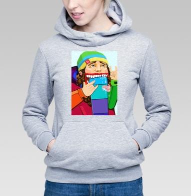 Люблю Сноубординг - Купить детские толстовки модные в Москве, цена детских толстовок модных  с прикольными принтами - магазин дизайнерской одежды MaryJane