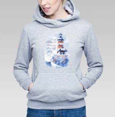 Маяк - Купить детские толстовки морские  в Москве, цена детских  морских   с прикольными принтами - магазин дизайнерской одежды MaryJane