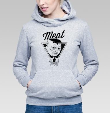 Meat - Купить детские толстовки военные в Москве, цена детских толстовок военных с прикольными принтами - магазин дизайнерской одежды MaryJane