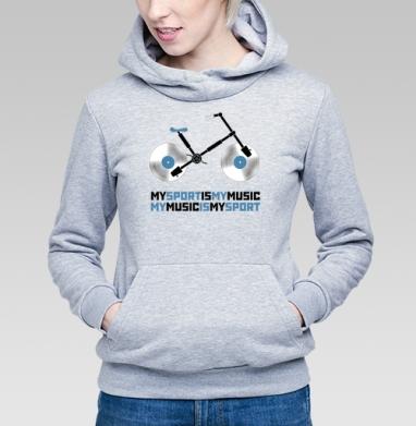 My sport, my music - Купить детские толстовки спортивные в Москве, цена детских толстовок спортивных  с прикольными принтами - магазин дизайнерской одежды MaryJane