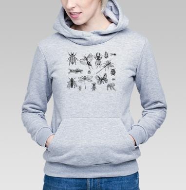Насекомые  - Купить детские толстовки с бабочками в Москве, цена детских толстовок с бабочкой с прикольными принтами - магазин дизайнерской одежды MaryJane