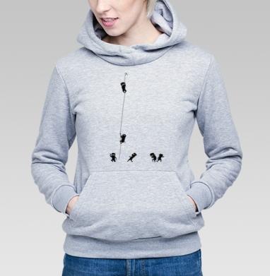 Ninja - Купить детские толстовки с графикой в Москве, цена детских толстовок с графикой  с прикольными принтами - магазин дизайнерской одежды MaryJane