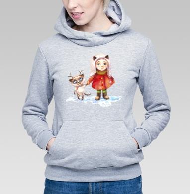 Пойдем гулять! - Купить детские толстовки с живописью в Москве, цена детских толстовок с живописью  с прикольными принтами - магазин дизайнерской одежды MaryJane