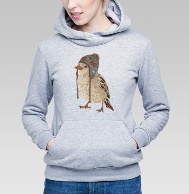 Птица в шапке - Длинные женские толстовки женские в интернет-магазине