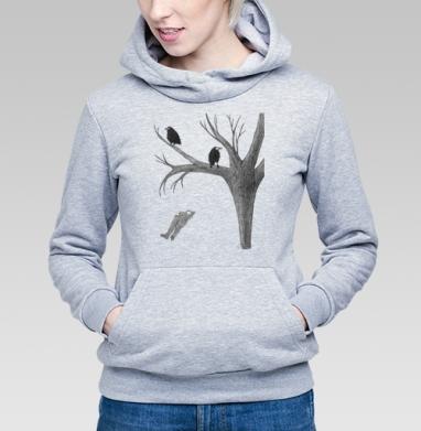 Птицы - Купить детские толстовки с деревьями в Москве, цена детских толстовок с деревьями  с прикольными принтами - магазин дизайнерской одежды MaryJane